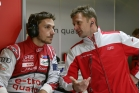Allan McNish and Filipe Alburquerque Le Mans 2014