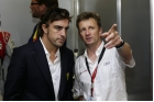 Allan McNish and Fernando Alonso Le Mans 2014
